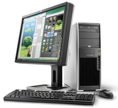 HP xw4550 Opteron WorkStation
