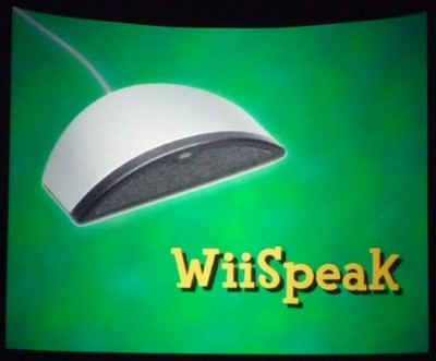 Nintendo WiiSpeak Microphone