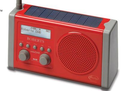 Roberts Radio solarDAB - Solar-powered DAB