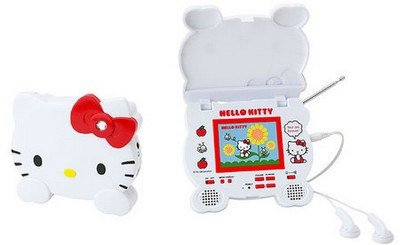Sanrio Hello Kitty 1Seg portable TV