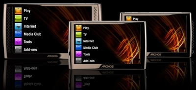Archos 5 and 7 Internet Media Tablets