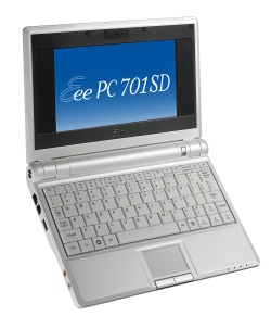 Asus Eee PC 701SD Series Mini Notebook