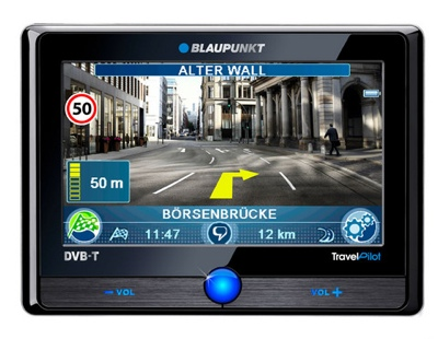 Blaupunkt Travel Pilot 700 and 500 GPS Devices