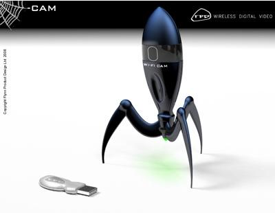 Bluetooth Webcam concept