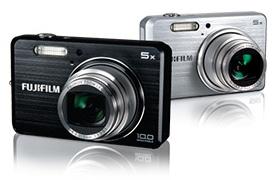FujiFilm FinePix J120 and J150W Digital cameras