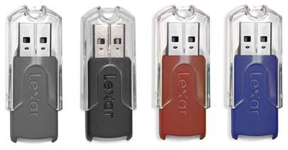 Lexar 16GB JumpDrive FireFly USB flash drive