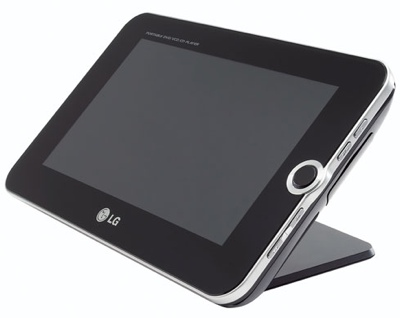 LG DP391B Portable DVD/DivX Player