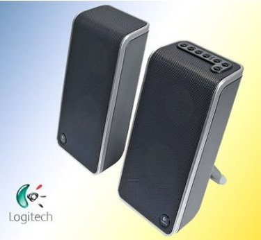 Logitech Z-500 Wireless Notebook Speaker