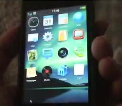 Meizu M8 UI Video Demo