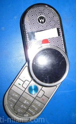Motorola V70 Spy shot