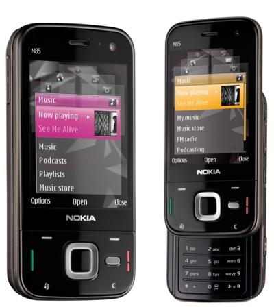 Nokia N85 Two-way Slider