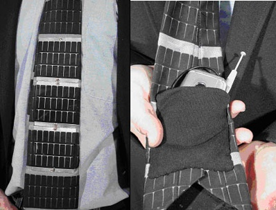 Solar Wearables Tie