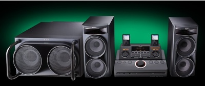 Sony XROSS FADE LBT-DJ2i DJ-Style Music System