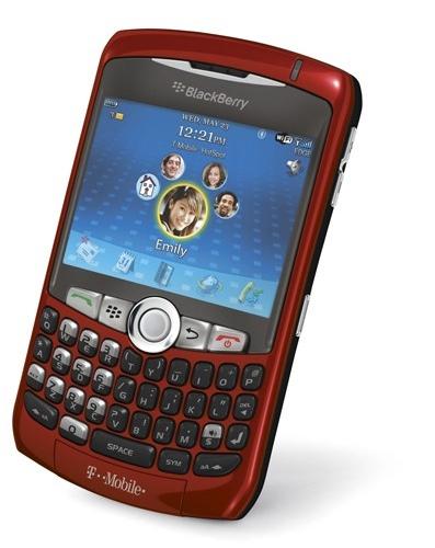 T-Mobile BlackBerry Curve Sunset