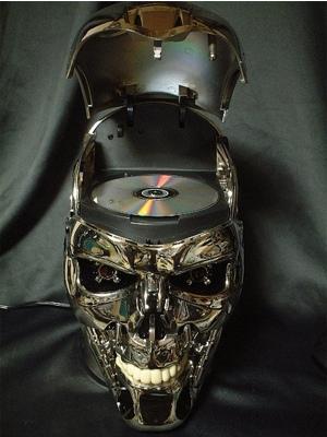 Terminator Head DVD Player