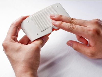 Touch Sight - Camera for the Blind Concept