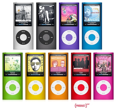 This iPod nano 4G is the thinnest iPod