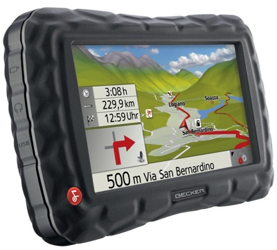 Becker Crocodile Traffic Assist Z 100 GPS for Outdoor Use
