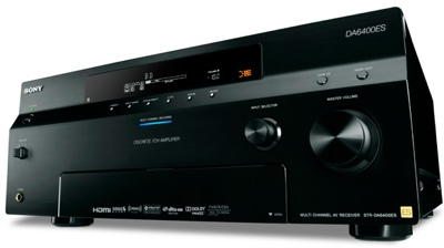 Sony STR-DA6400ES and STR-DA5400ES A/V receivers