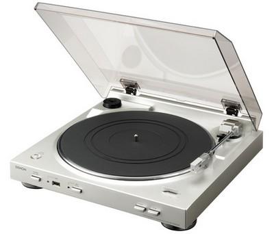 Denon DP-200USB vinyl-to-MP3 Turntable