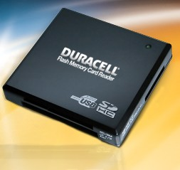 Duracell 15-in-1 memory card reader