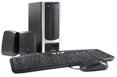 eMachines EL1200 Dictionary-sized Desktop PC