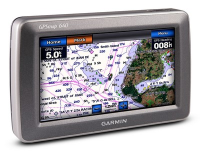 Garmin GPSMAP 620 and 640 are Ready for Land or Sea