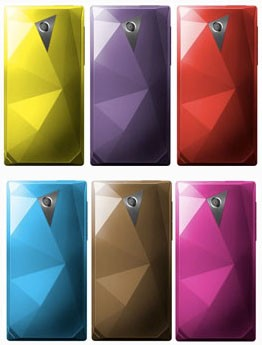 HTC Touch Diamond is so Colorful