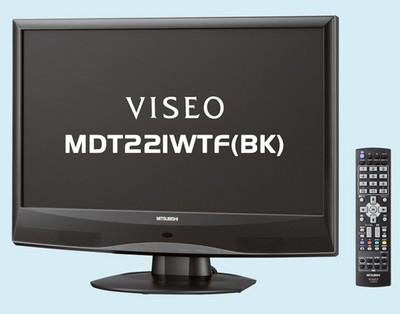 Mitsubishi Viseo MDT221WTF Full HD LCD Monitor/TV