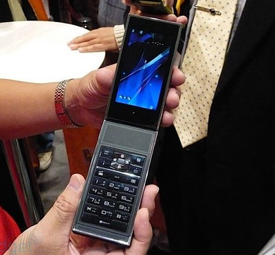 NTTDoCoMo / Fujitsu Separated Phone