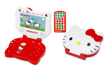 Sanrio Hello Kitty Portable DVD Player