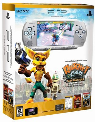 Sony PSP-3000 Ratchet & Clank Entertainment Pack