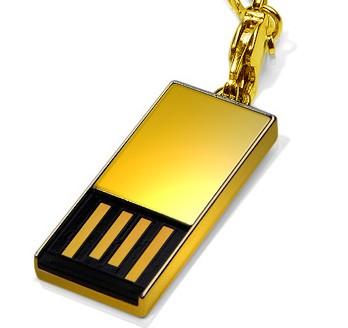 Super Talent 18-Carat Solid Gold Pico-C USB Drive