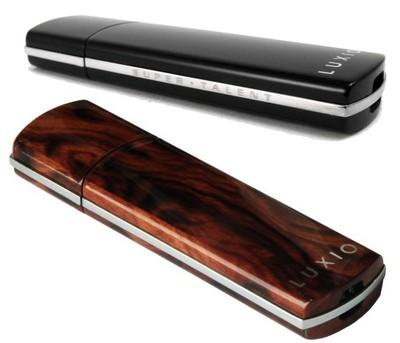 Super Talent Luxio USB Drives