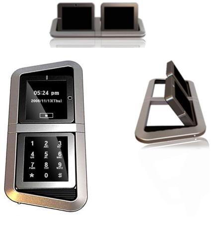 8 - Flipup touchscreen phone concept