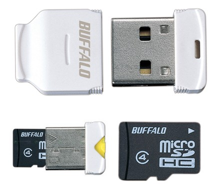Buffalo RMUM Series - Smallest Micro USB Drive