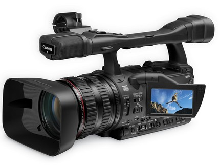 Canon XH A1S and XH G1S Prosumer HD Camcorders