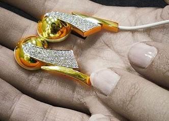 Casa Gi Diamond-encrusted Earphones