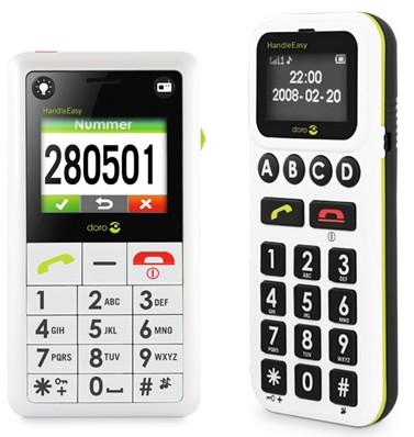 Doro HandleEasy 330gsm and HandleEasy 326i gsm Phones