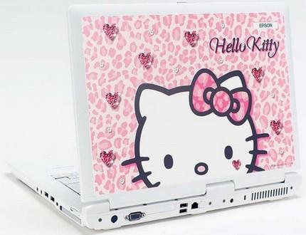 Epson Endeavor NJ250 Hello Kitty Laptop