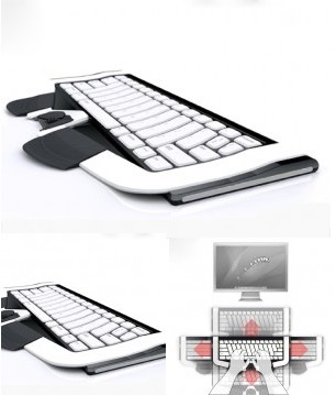 Glide Keyboard Mouse concept
