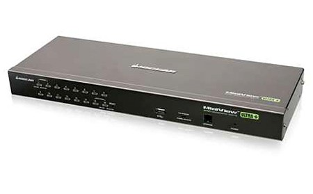 IOGEAR GCS1716 16-Port USB PS2 Combo KVM Switch