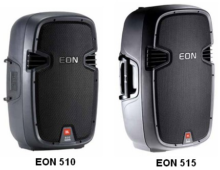JBL EON 510 EON 515 Speakers