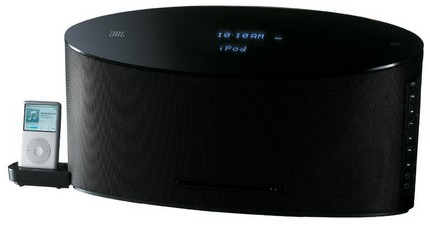 JBL MX100 iPod Dock / CD Player