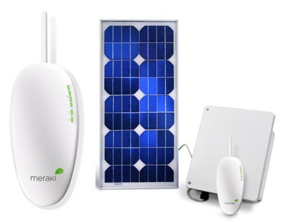 Meraki Solar WiFi Repeater