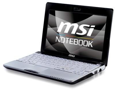 MSI Wind U120H HSDPA 3.5G Netbook