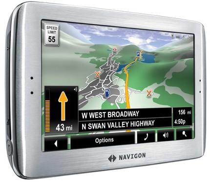 Navigon 8100T uber-premium GPS Navigator