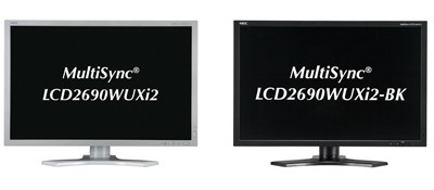 NEC MultiSync LCD2690WUXi2 covers 97.5% Adobe RGB