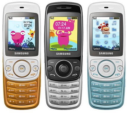 Samsung Tobi S3030 Phone for Kids