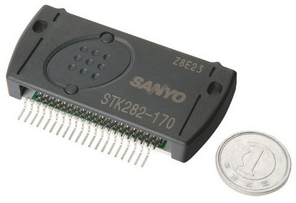 Sanyo STK282-100-E Series Digital Amplifier IC